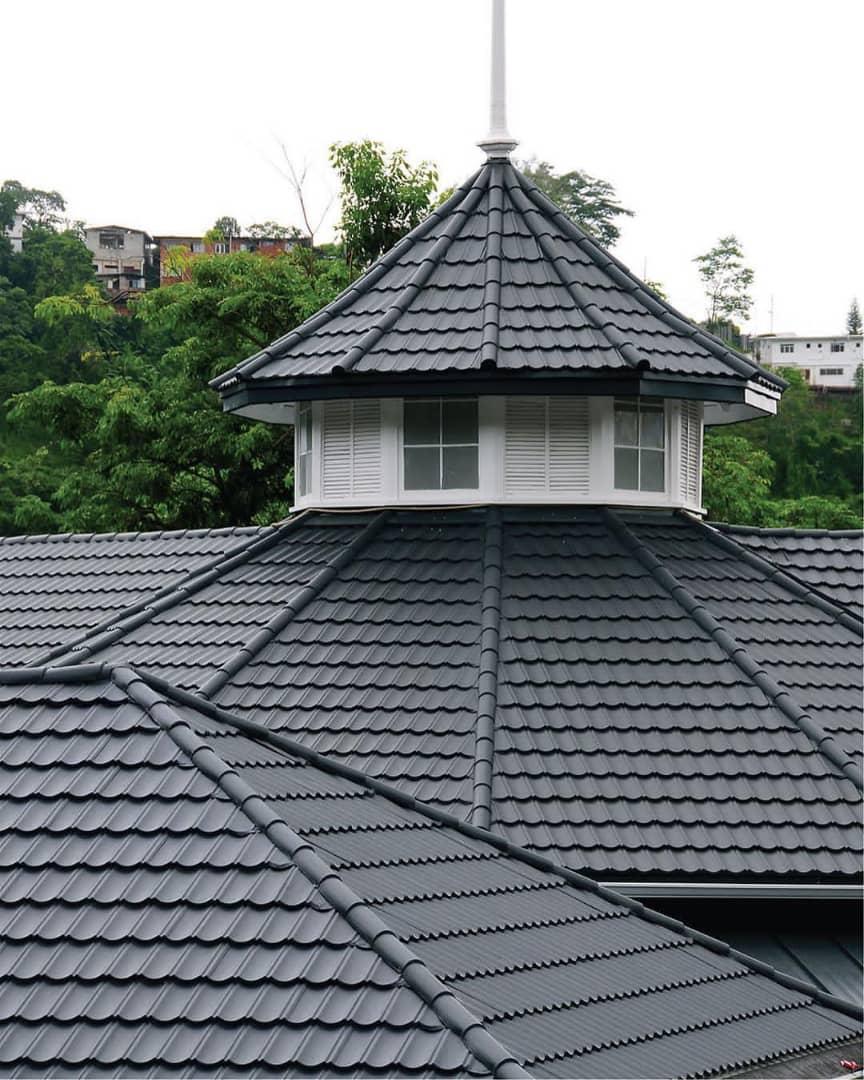 سقف ویلا - بام آذین